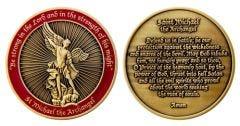 Saint Michael Challenge Coin