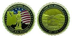 Camp Williams National Guard Coin