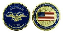 AMERICAN VALOR CHALLENGE COIN