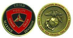 3RD MARINE DIVISION COIN