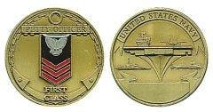 U.S. NAVY PETTY OFFICER FIRST CLASS CHALLENGE COIN
