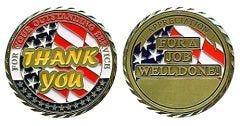 Appreciation Challenge Coin