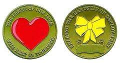 Deployment Hardship Challenge Coin - Power of Love