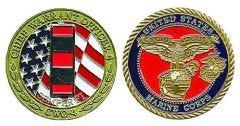 (D) USMC CWO-4 COIN