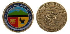 (D) NSA NAPLES USN COIN