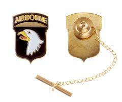 101st Airborne Division Tie Tack