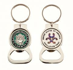Army Bottle Opener Magnet Key Ring