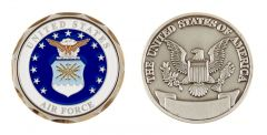 """U.S AIR FORCE """"NEW LOGO"""" CHALLENGE COIN"""