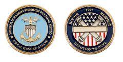 Coast Guard Gunner's Mate Coin