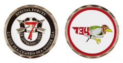 Eglin Air Force Base 7th Special Forces Challenge Coin