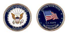 U.S. NAVY RETIRED CHALLENGE COIN