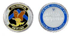 Lackland Air Force Base 319th Training Squadron Challenge Coin