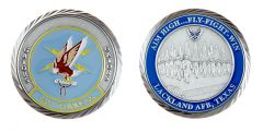 Lackland Air Force Base 320th Training Squadron Challenge Coin
