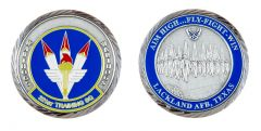 Lackland  Air Force Base 321st Training Squadron Challenge Coin