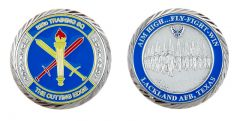 Lackland Air Force Base 323rd Training Squadron Challenge Coin
