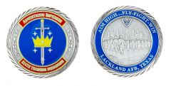 Lackland Air Force Base 324th Training Squadron Challenge Coin