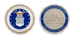 U.S. AIR FORCE LIEUTENANT COLONEL RANK CHALLENGE COIN