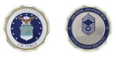 U.S. AIR FORCE CHIEF MASTER SERGEANT RANK CHALLENGE COIN