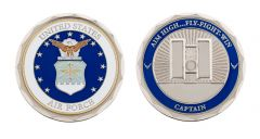 U.S. AIR FORCE CAPTAIN RANK CHALLENGE COIN