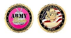 U.S. ARMY POUD MOM CHALLENGE COIN