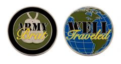 Army Brat Well Traveled Coin