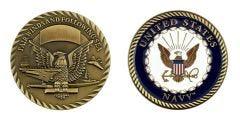 U.S. NAVY FAIRWINDS CHALLENGE COIN