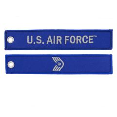 US Air Force Staff Sergeant Rank Name Tape Key Chain SSgt