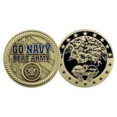 GO NAVY BEAT ARMY COIN