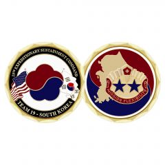 19TH EXPEDITIONARY SUSTAINMENT COMMAND COIN