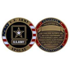 US Army Spouse Challenge Coin