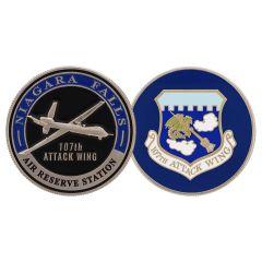 107th Attack Wing Niagara Falls Challenge Coin