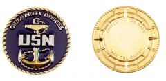 U.S. NAVY CHIEF PETTY OFFICER CHALLENGE COIN