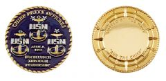 RANK, NAVY CHIEF PETTY OFFICER 1893 COIN