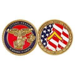 (D) RANK, USMC PRIVATE 1ST CLASS