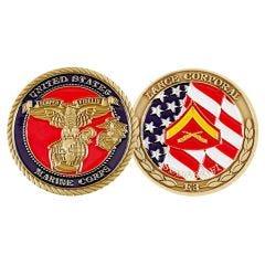 (D) RANK, USMC LANCE CORPORAL