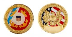 Retired Coast Guard Coin