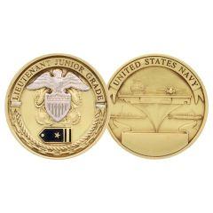 US Navy USN Lieutenant Junior Grade LTJG Rank Challenge Coin