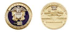 U.S. NAVY CAPTAIN RANK CHALLENGE COIN