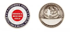 USAF CORE VALUES COIN
