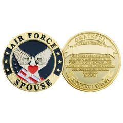 U.S. AIR FORCE SPOUSE CHALLENGE COIN