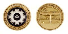 (D) ENGINEMAN COIN