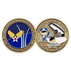 AIR FORCE BRAT COIN