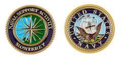 (D) NSA MONTEREY COIN
