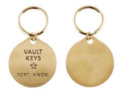 Fort Knox Vault Key Ring